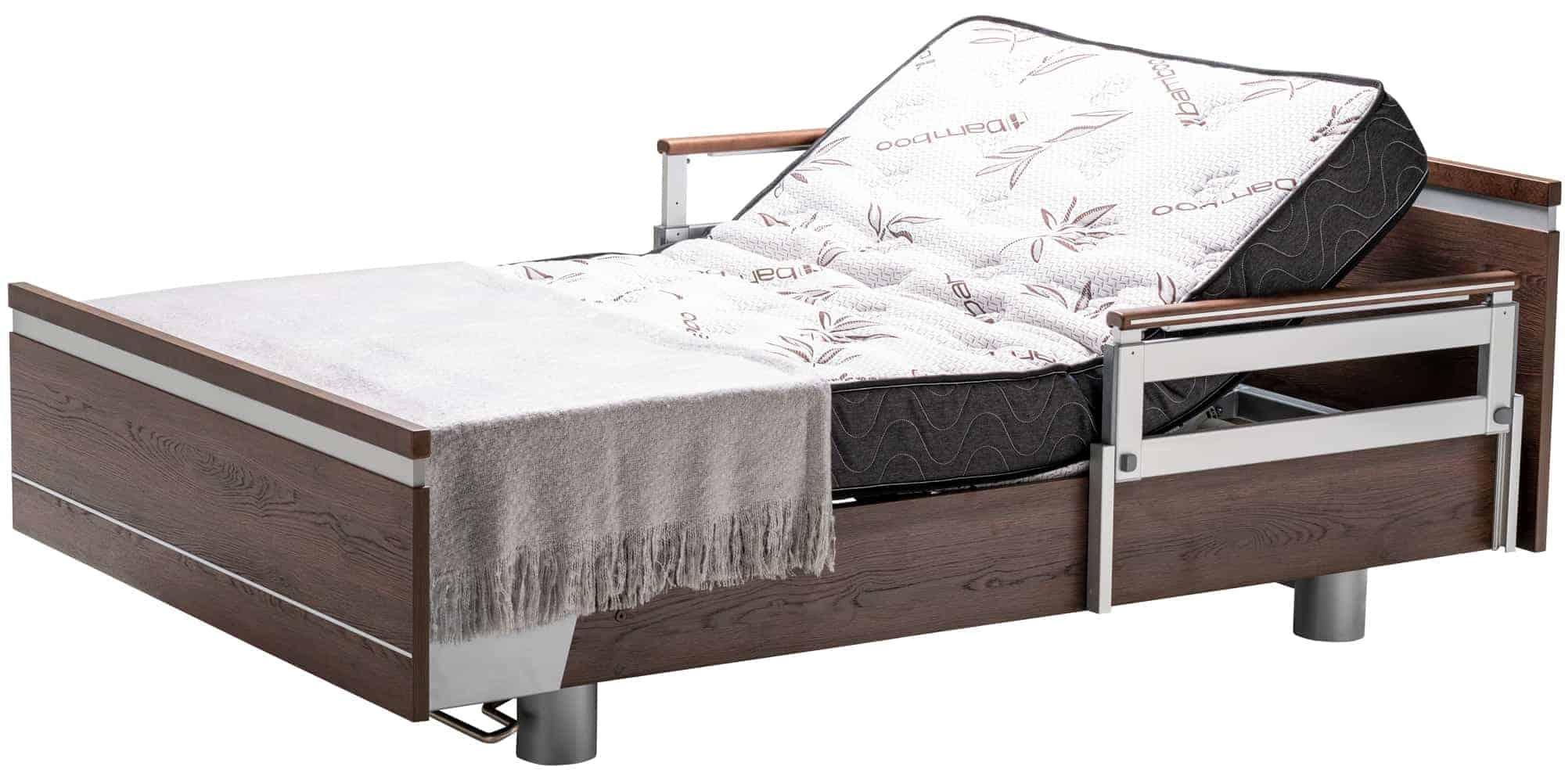 SonderCare Aura™ Wide Hospital Bed Head Adjusted Position