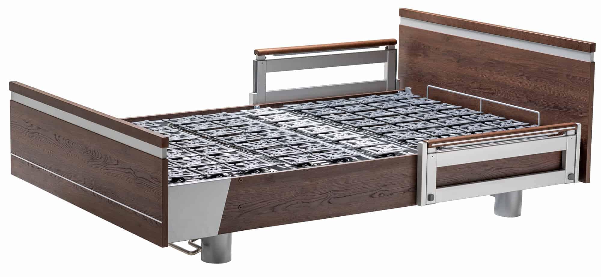 SonderCare Aura™ Wide Hospital Bed Frame and Comfort Deck